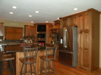 Kraftmaid Hickory Belmont Cabinetry