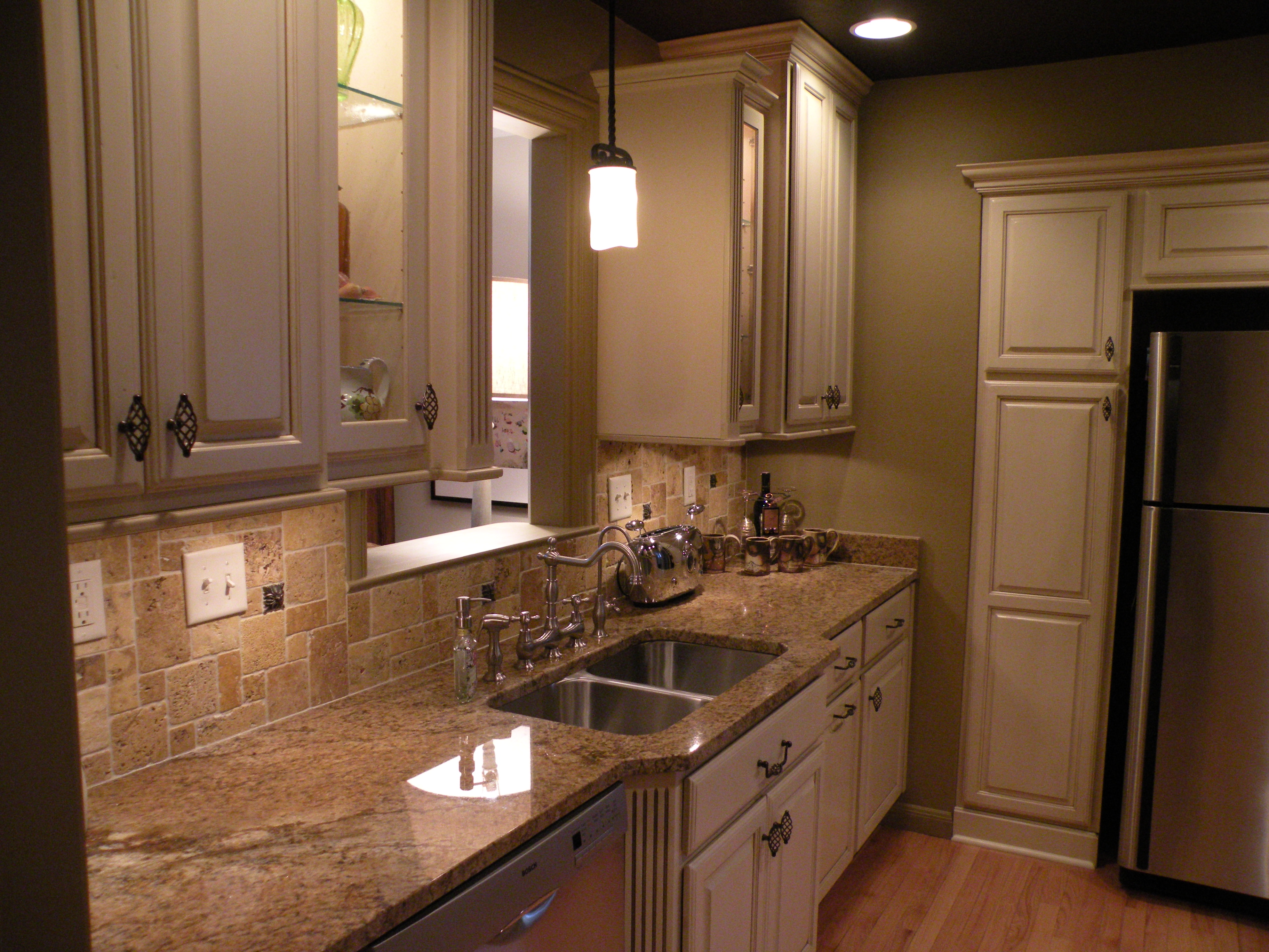 Kraftmaid Belmont Birch Taupe Glaze Cabinetry Sioux